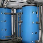 3000 Liter Solarspeicher mit Wärmetauscher für Warmwasser