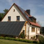 45m² Solarfläche zur Heizungsunterstützung und Warmwassererzeugung (Südausrichtung)