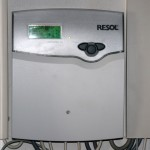Steuerung für Solaranlage